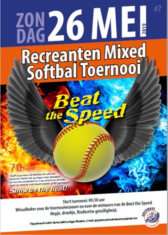 Recreanten Mixed Softbal Toernooi 26 mei