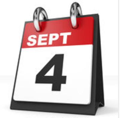 Het is weer tijd voor de ALV en BBQ - 4 september!!